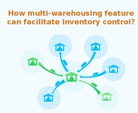 How multi-warehousing feature can facilitate inventory control?